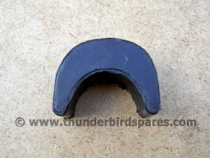 Fuel Tank Tunnel Rubber, Rear, BSA A50/A65 1962-70, 68-8018